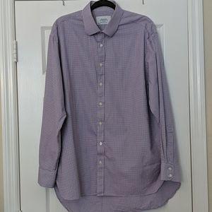 Men's CHARLES THRWHITT Cotton Button Down Shirt